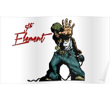 DJ FX 5th Element Poster