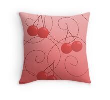 Random Acts of Cherry Throw Pillow