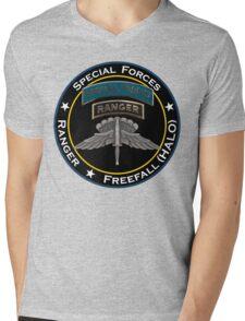 SF Ranger HALO Mens V-Neck T-Shirt