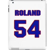 National baseball player Jim Roland jersey 54 iPad Case/Skin