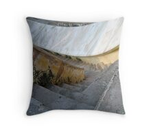 Jaipur Observatory Stairs Throw Pillow