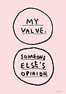 MY VALUE by Steve Leadbeater
