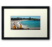 Coogee Lifeguard  Framed Print