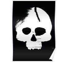 Skull Stencil Poster