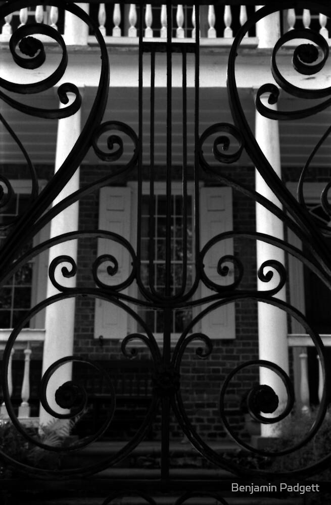 Charleston Iron Gate & Porch by Benjamin Padgett