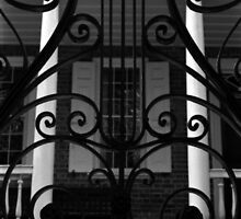Charleston Iron Gate & Porch by Benjamin Padgett