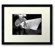 Tonal Framed Print