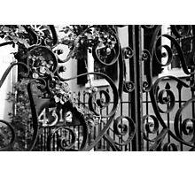 43-1/2 Meeting Street #1, Charleston, SC Photographic Print