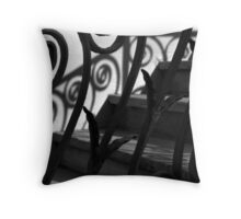 Shadows & Stairs No. 3 Throw Pillow