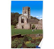 Fountains Abbey 11 Poster