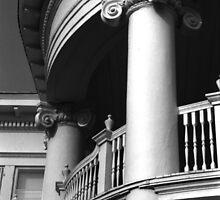 Round Portico, Charleston, SC by Benjamin Padgett