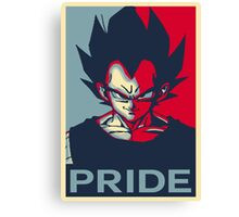 "Vegeta ""PRIDE"" Poster  Canvas Print"