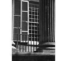 Randolph Hall Columns & Shutters Photographic Print