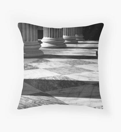 U.S. Customs House No. 1, Charleston, SC Throw Pillow