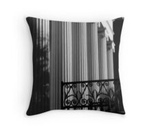 Hibernian Iron & Columns No. 4 Throw Pillow
