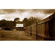 Pinhole - Berima 3 Photographic Print