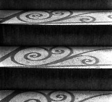 Shadows & Stairs No. 1 by Benjamin Padgett