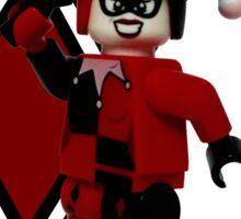Lego Harley Quinn Sticker