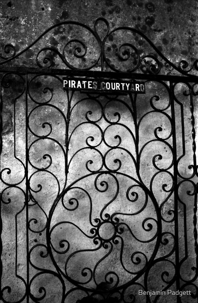 Pirates Courtyard by Benjamin Padgett