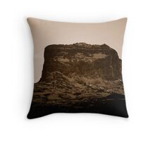 Head Shot Of Big Chief Mountain Throw Pillow