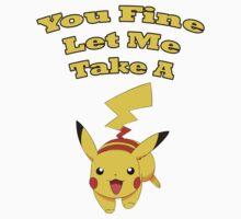 Pikachu Pun Kids Tee