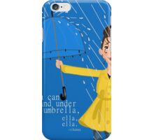 Stand Under my Umbrella iPhone Case/Skin