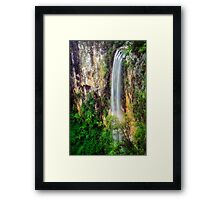 Purling Brook - Breaking the Drought Framed Print