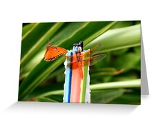 Winged Friends Greeting Card