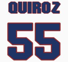 National baseball player Guillermo Quiroz jersey 55 by imsport