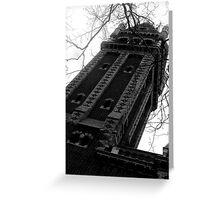 Gothic Church. Greeting Card