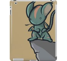 hero lemur thingy iPad Case/Skin