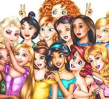disney princesses 2 by iheartcory