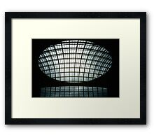 Corn Exchange Windows Framed Print