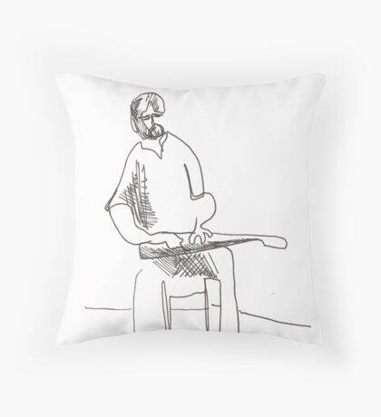 Jordie Lane Throw Pillow