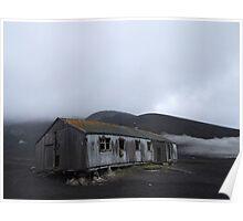 Whalers' Hut, Antarctica Poster
