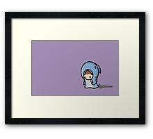 sharksuit chibi Framed Print