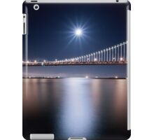 Supermoon over San Francisco Bay Bridge iPad Case/Skin