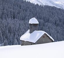 House in the Snow by Adam Jackson