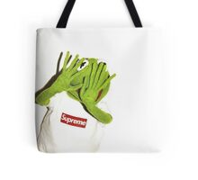 Kermit for Supreme Media Cases, Pillows, and More. Tote Bag