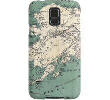 ALASKA GOLD RUSH SURVIVAL MAP/GUIDE  1897 Samsung Galaxy Case/Skin