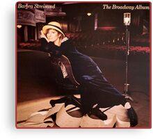 The Barbra Streisand Fan's Holy Grail  Canvas Print