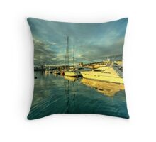 Rijekan reflections Throw Pillow