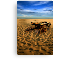 THE LONELY DESERT 1 Canvas Print