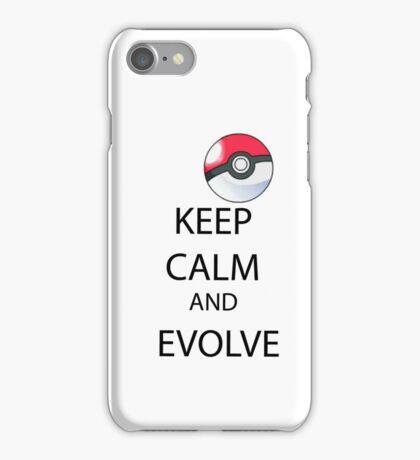 KEEP CALM AND EVOLVE iPhone Case/Skin