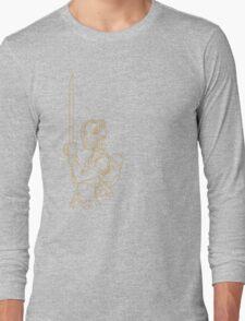 Rock Night - Beth (Beige) Long Sleeve T-Shirt