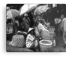 Selling at Denpasar Metal Print