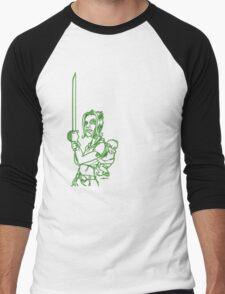 Rock Night - Beth (Green) Men's Baseball ¾ T-Shirt
