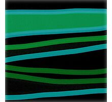 GREEN VALLEY abstract art gifts Photographic Print
