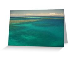 Moore Reef off Cairns Greeting Card