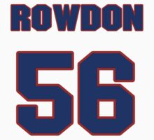 National baseball player Wade Rowdon jersey 56 by imsport